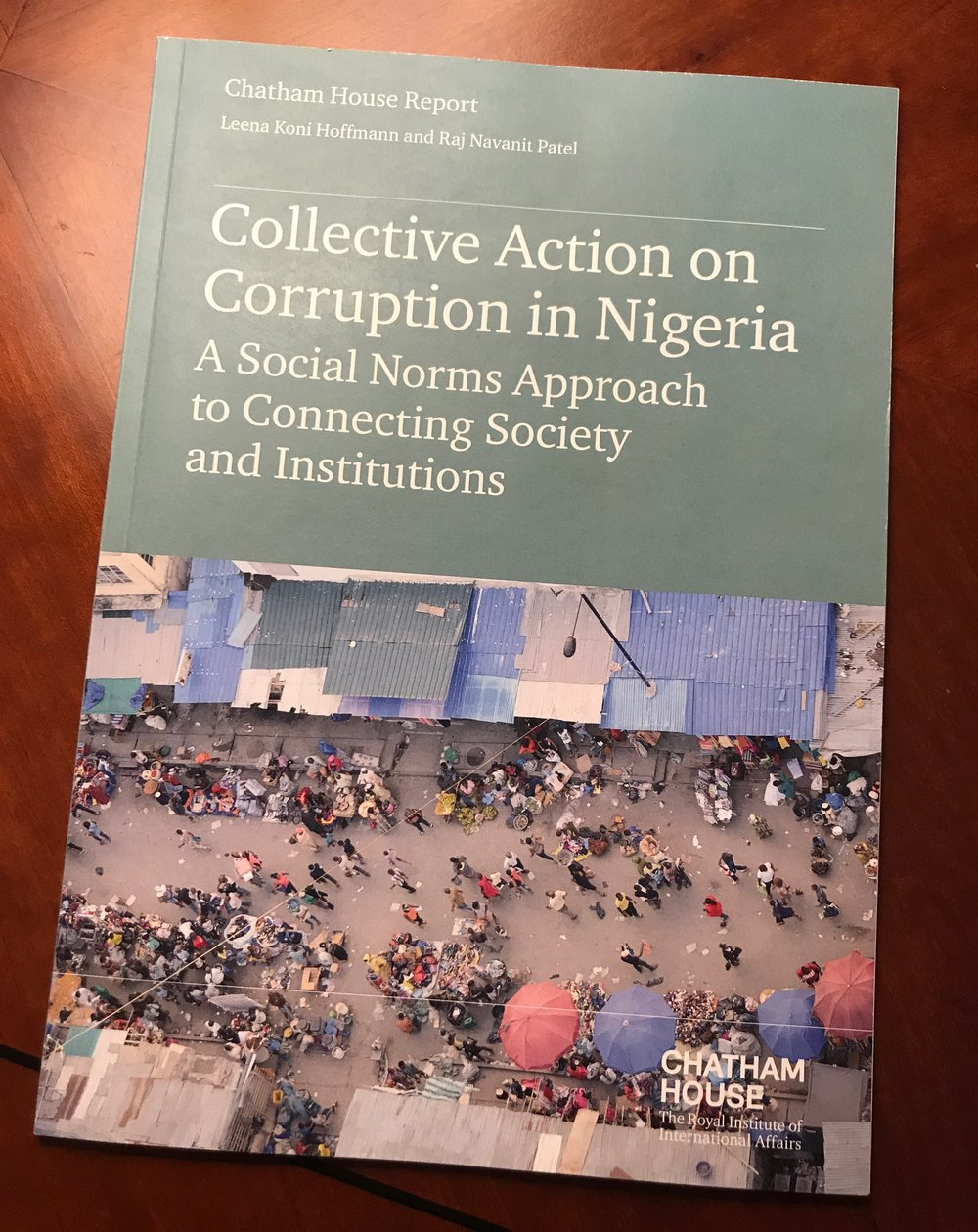 Click  here  for a copy of  Collective Action on Corruption in Nigeria .