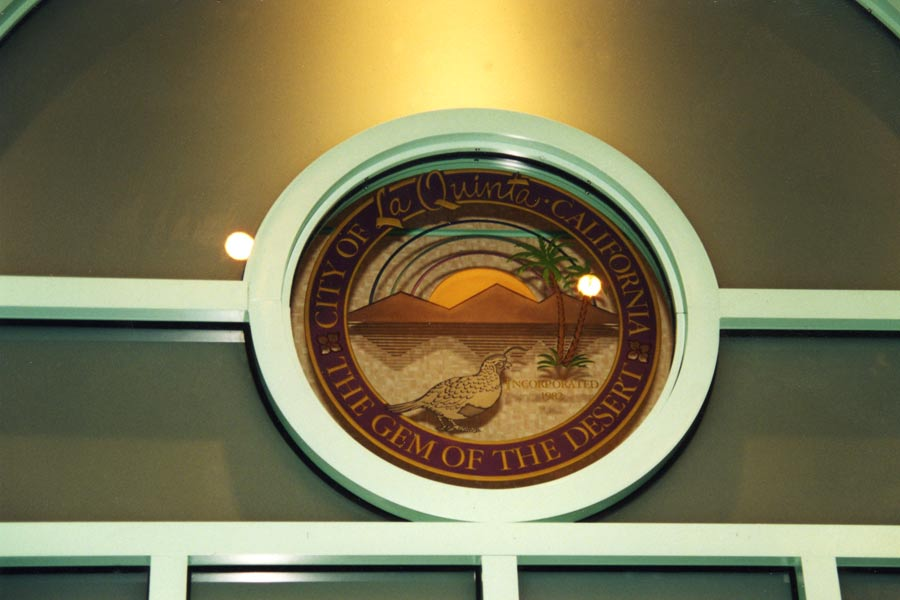 La Quinta City Hall Council Chambers Detail View