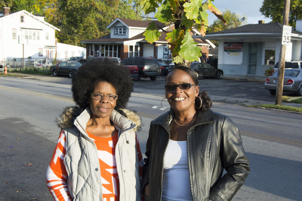 """""""I think that education is your key out. Without an education, you can't even go to McDonalds, now. So pay attention, work hard, and focus on your education."""" - Regina & Tina, Shawnee"""