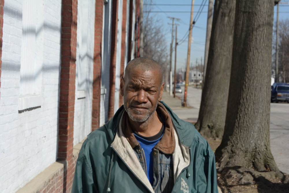 """The West End needs more jobs for young black people. It'll keep them out of trouble. We need to make them go to school. I'm retired from the Navy, I draw my pension. I just get out here on Tuesdays and get my cans because I know they throw them out."" - John, Russell"