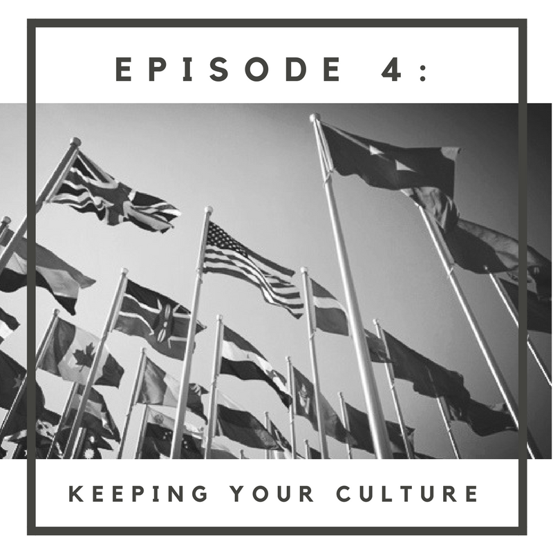 "In Episode 4, ""Keeping Your Culture,"" meet Martin, a Cuban/Salvadorian-American father and husband who is fighting assimilation. Listen to how he integrates his heritage back into the community, while educating his daughter to be proud of their roots. Plus, Perrine, Skye and the whole round-table crew share a few of their own assimilation experiences & fears.  Music:   www.bensound.com    www.freemusicarchive.com  piano songs by Julie Maxwell   www.purple-planet.com"