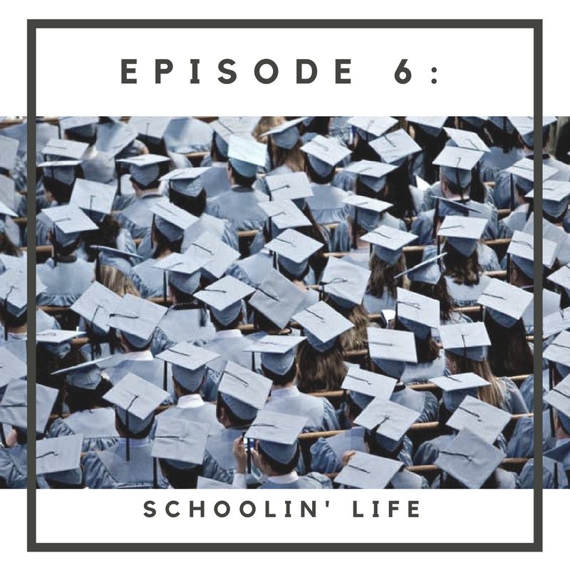"In Episode 6, ""Schoolin' Life,"" Perrine, Skye and the roundtable crew discuss the importance of education and their parents' influence at an early age. Elvira shares her Bosnian-American journey of becoming a doctor; both meeting and defying expectations.  Full musical composition by Nick Stubblefield:  www.nickstubblefield.com"