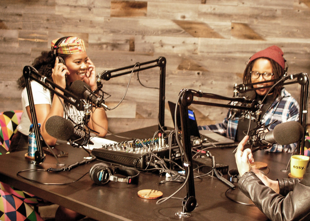 co-hosted by perrine & skye - 2 Liberian-American girls exploring cultural identity