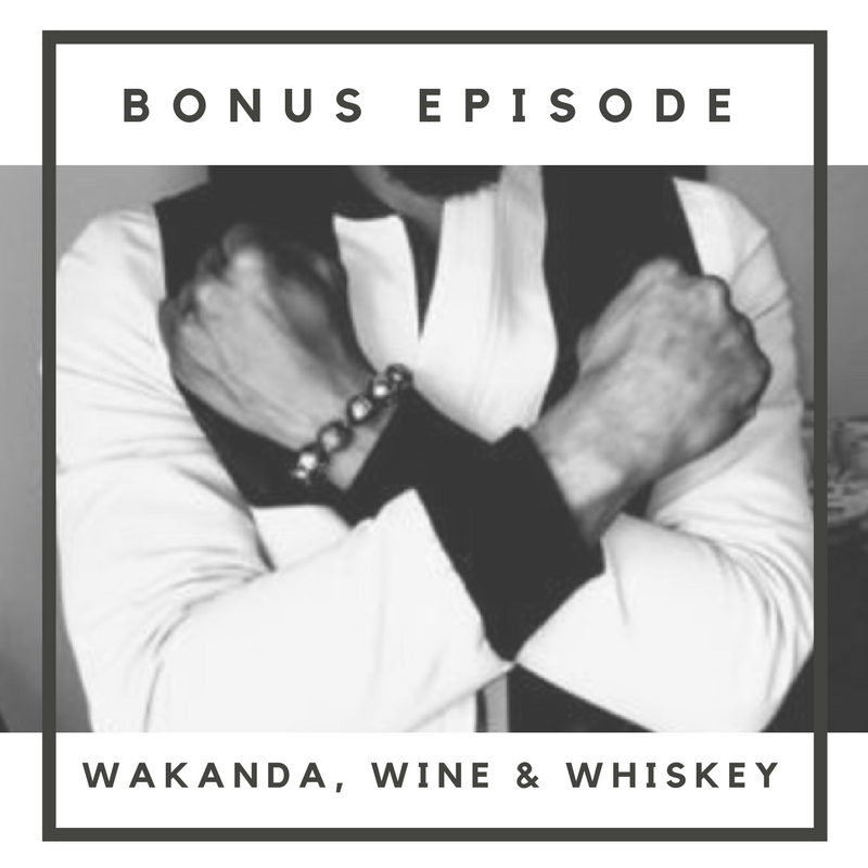 In this Bonus Episode, Perrine and Skye sit down with two fellow African 1stGens (Betty, Sierra-Leonean American & Emmanuel, Ghanian-American) with a bottle of wine and a bottle of whiskey to discuss the various themes and think-pieces of Marvel's Black Panther. This unique roundtable discussion taps on everything from the gap between Black Americans and Africans, to the symbolism the people of Wakanda share with Africans of different regions.