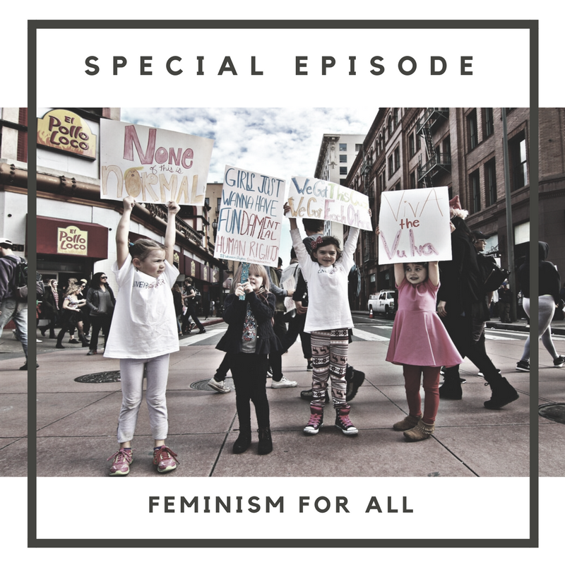 In this Special Episode, Skye and Perrine have a candid roundtable discussion about feminism with Jan Anderson, President and Founder of the Charlotte Women's March and Ally Korony, Philanthropy Manager of the YWCA of the Central Carolinas.  Charlotte Women's March:  charlottewomensmarch.org   YWCA of Central Carolinas:  ywcacentralcarolinas.org    Music by Nick Stubblefied:  www.nickstubblefield.com   Episode art by: Nicole Adams via  www.unsplash.com