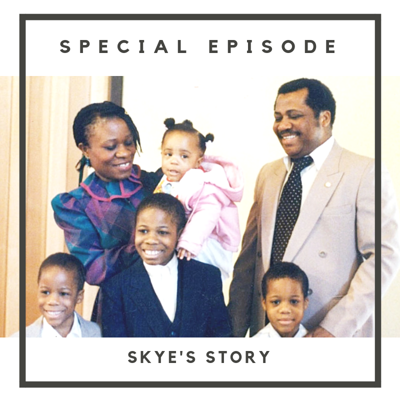 In this special two-part episode, we're giving you more insight on US! Hear Skye's story, her upbringing and background as she is interviewed by Perrine.    The duo brings everything full circle as to how they got around to creating this podcast together.    Music by Nick Stubblefield:  www.nickstubblefield.com