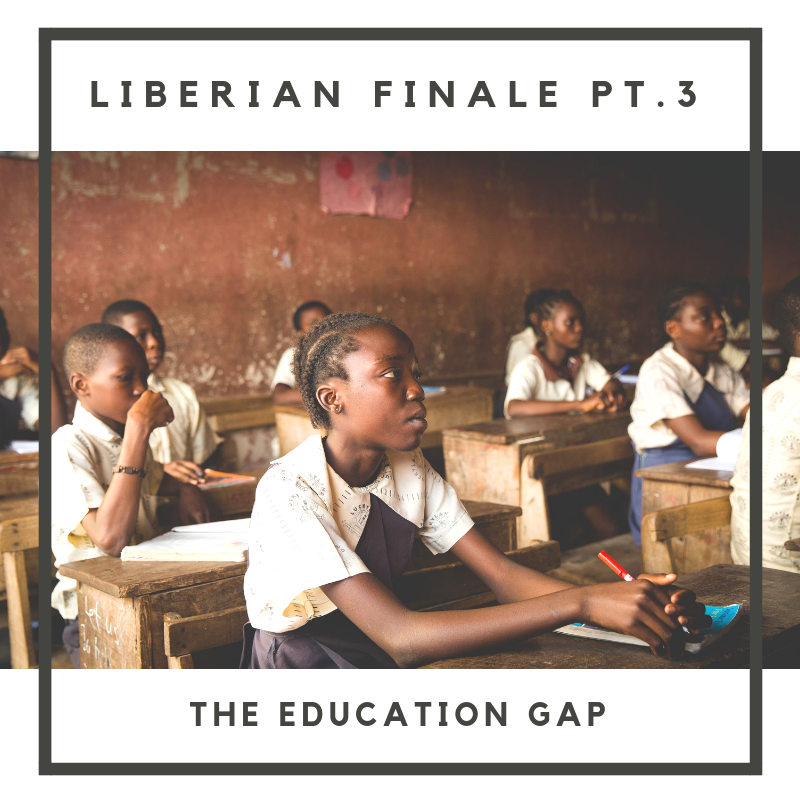 In Part Three of our Liberian Season Finale, hear from Alston, a board member for the YesLiberia organization, which pays for the school fees of underprivileged youth throughout Liberia. Perrine and Skye discuss with Alston how so many of the country's problems stem from the lack of accessible education, the gender gap between girls and boys education and so much more.  Full musical composition by Nick Stubblefield:  www.nickstubblefield.com