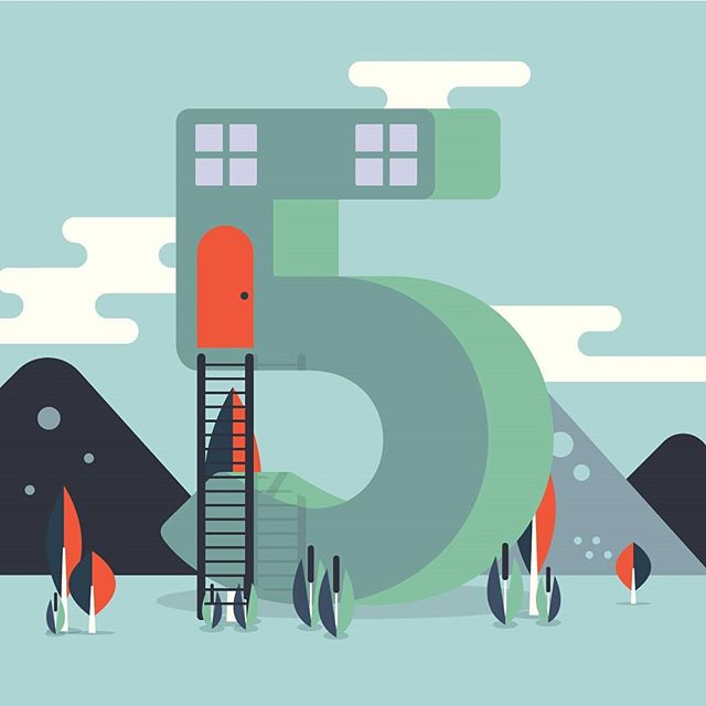 357/365 - Beginning of the end.  _ _ #illustration  #illustrator  #vector  #design  #shapes  #drawing  #graphicart  #graphicdesign  #2d  #flatdesign  #art  #vectorillustration  #icondesign  #geometric  #city #house #scenic