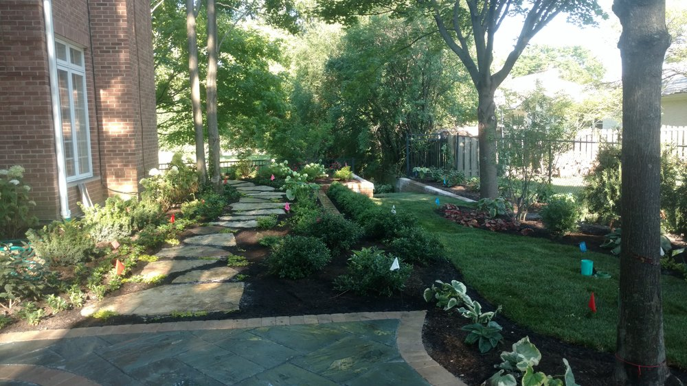 Natural Looking Stone Installations Hardscape