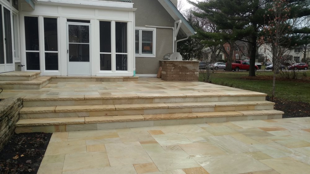New Outdoor Patio Design and Installation in Evanston, IL