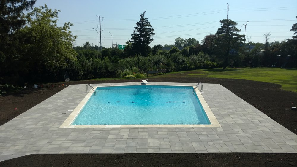 Highland Park Pool Patio Design and Installation - Chicago, IL