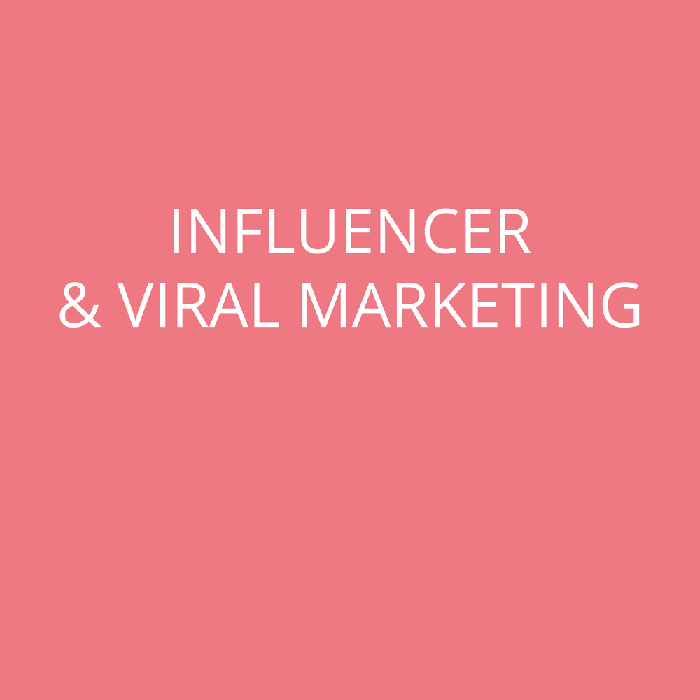 Influencer & Viral Mareting