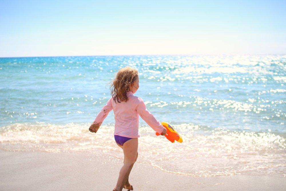 Enjoying a beautiful day in May on Falassarna Beach