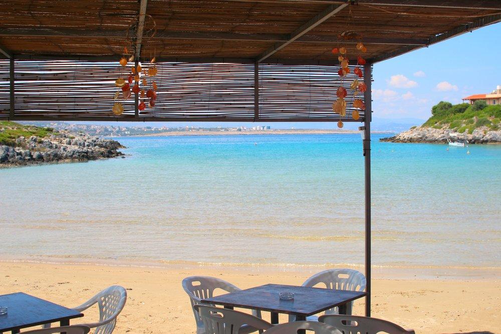 Tersanas Beach - our local neighborhood hang-out