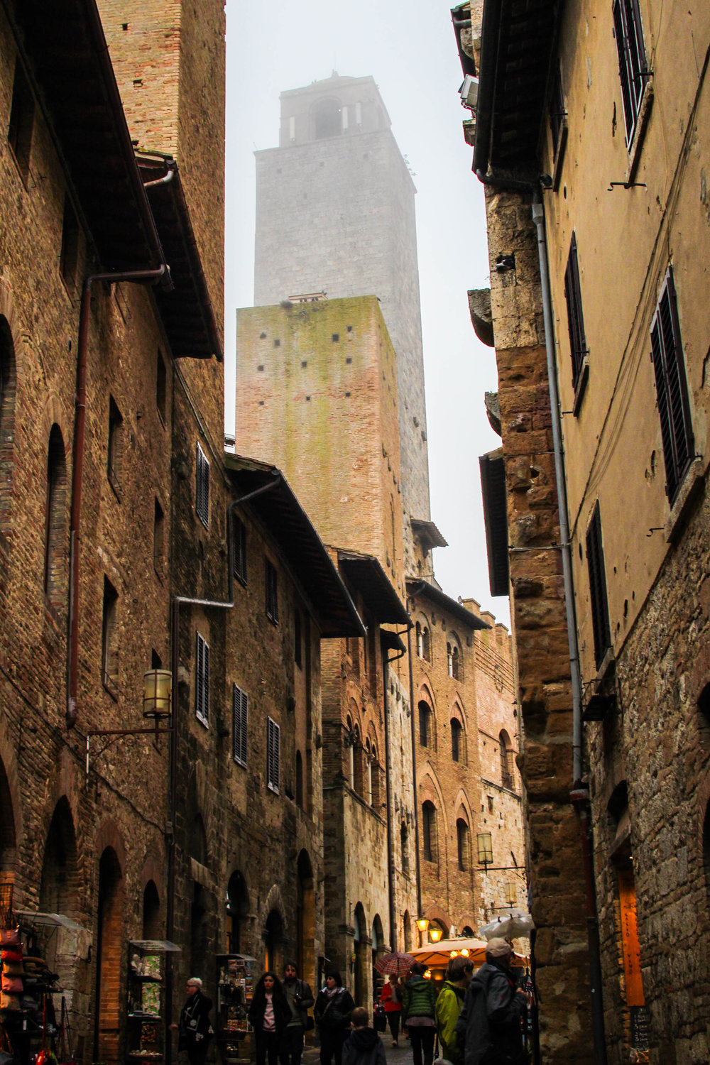 The beauty of San Gimignano is all around