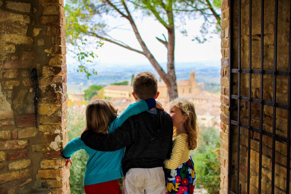 Beautiful views and a great spot for exploring - Rocca de Montestaffoli, San Gimignano
