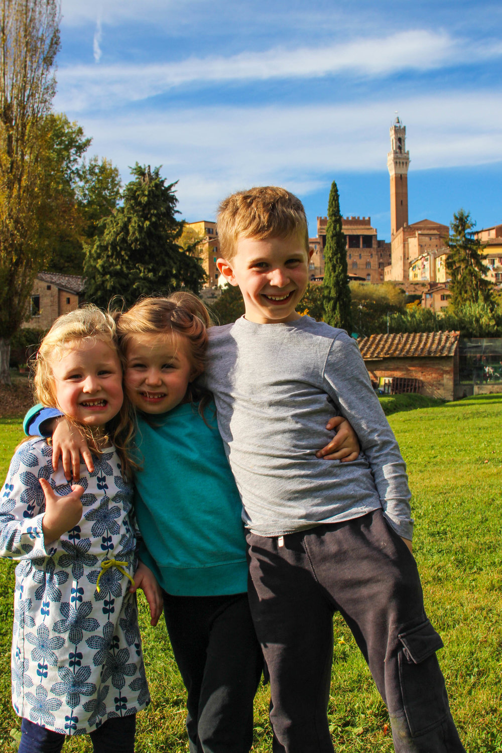 Orto de' Pecci - a green oasis in the middle of Siena
