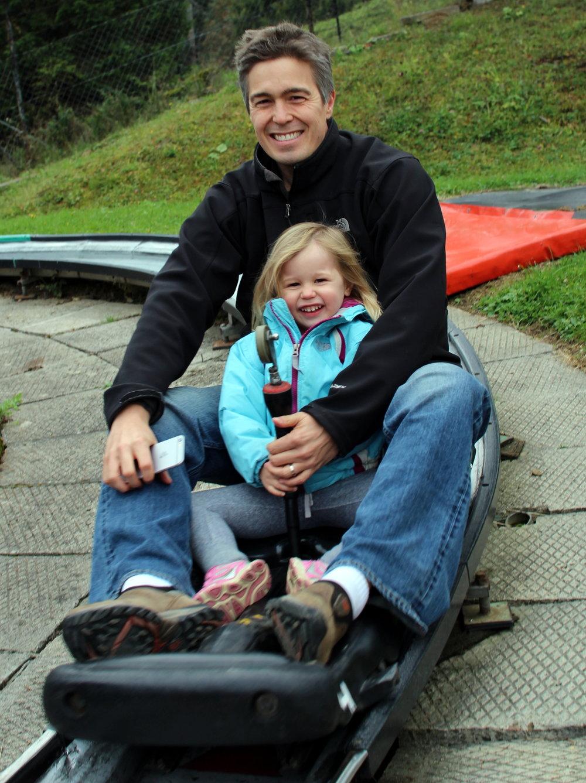 Alpine sliding in Zakopane - once you've done this, you'll never go back to regular slides!