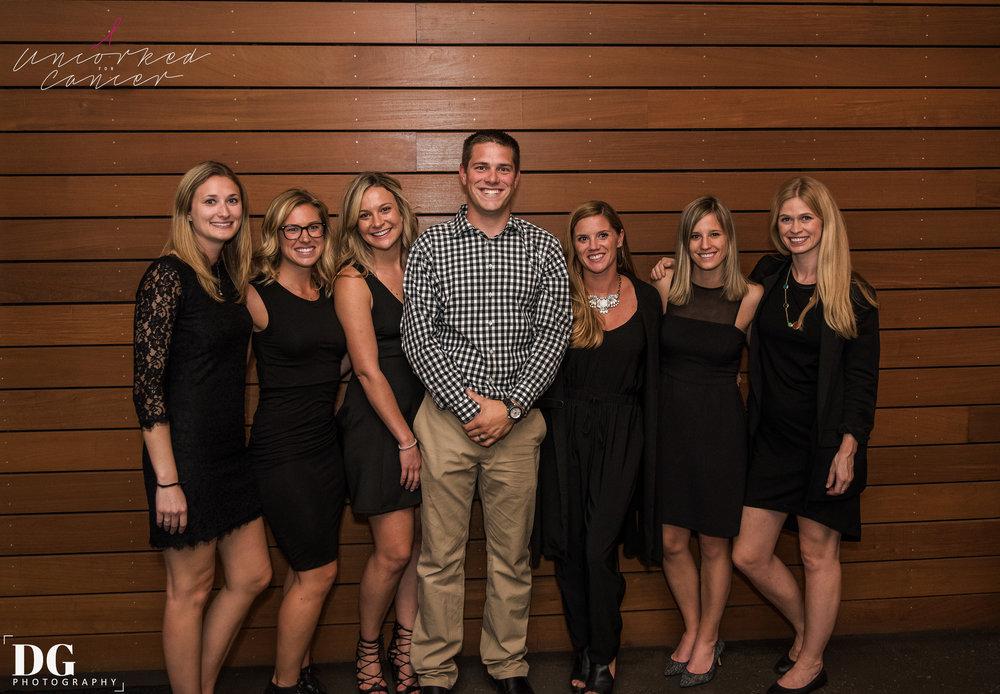 Board Member (from left to right): Christine Schoening, Emma Stolz, Bretlyn Hensley, Jason Hensley, Hannah Lentz, Elisabeth Malik, Jillian Erickson