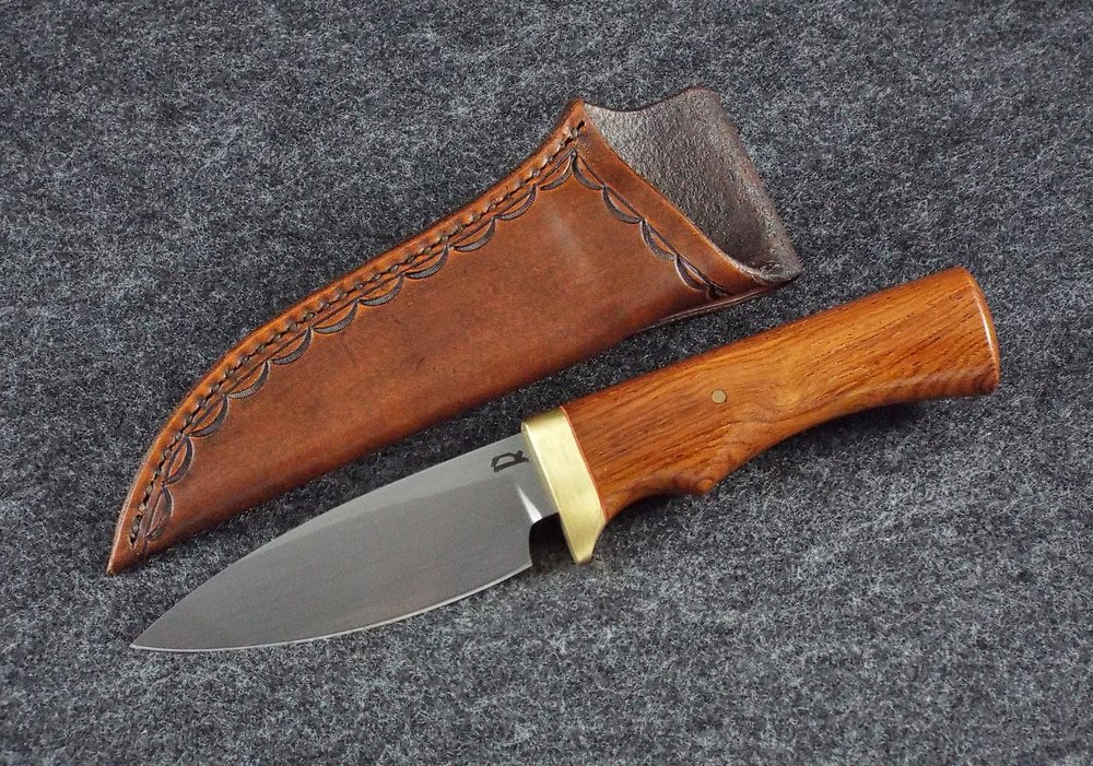 Drop Point Hunter Rosewood