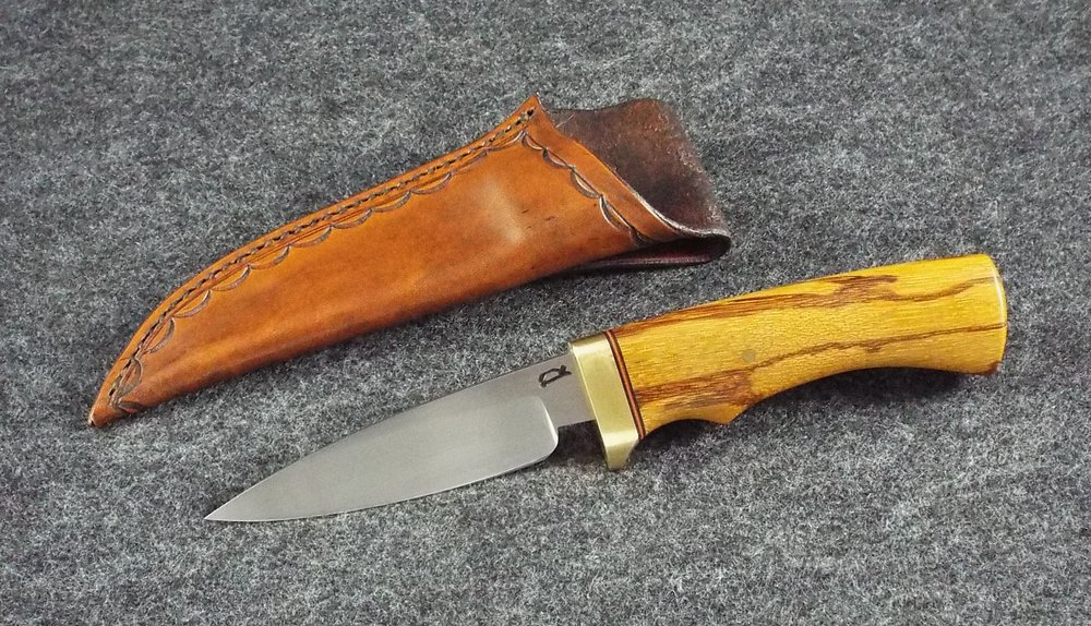 Drop Point Hunter Marblewood