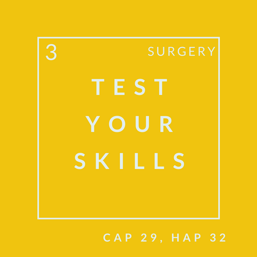 Surgery Quiz 3