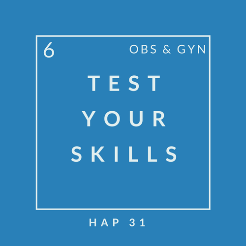 O&G Quiz 6