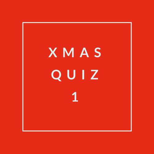 Xmas Quiz 1