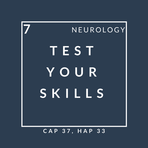 Neurology quiz 7