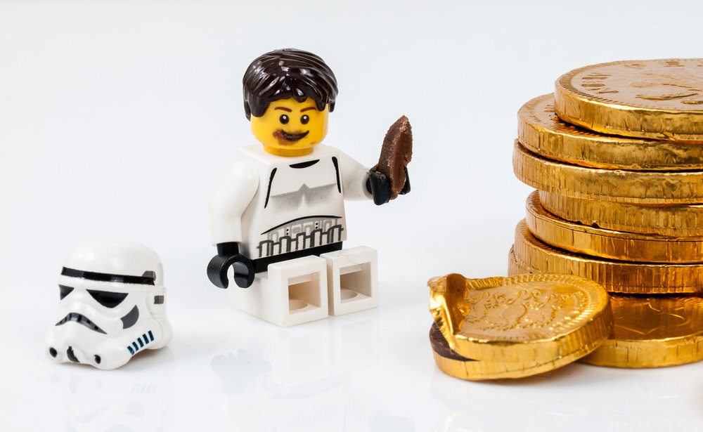 Eating Lego