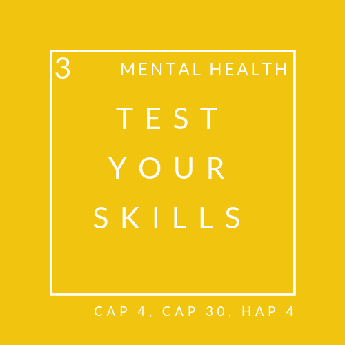 Mental health quiz 3