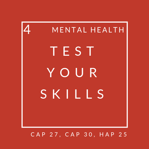 Mental health quiz 4