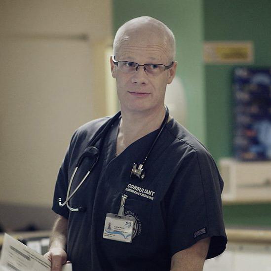 Alastair Ireland  Clinical Lead for Emergency Medicine, Glasgow Royal Infirmary