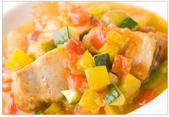 メキシカンポークバラ肉と野菜の柔らか煮
