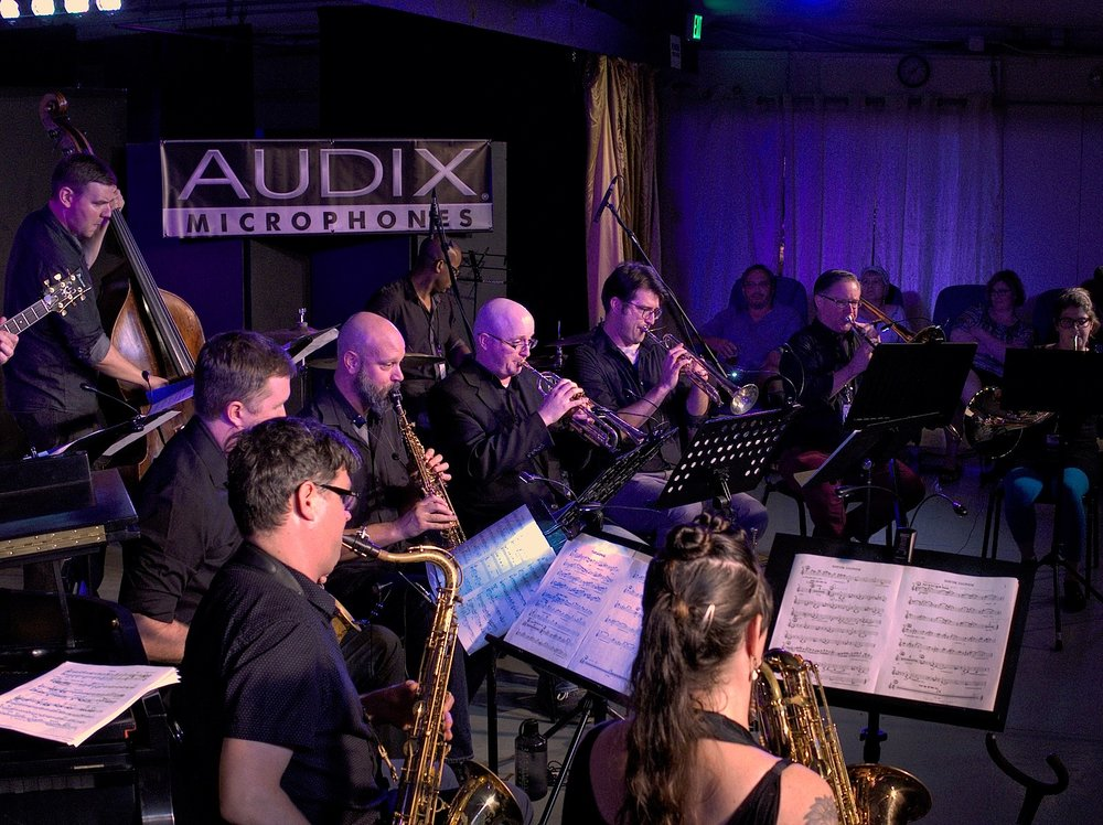 Portland Jazz Composers Ensemble at Montavilla Jazz Festival.
