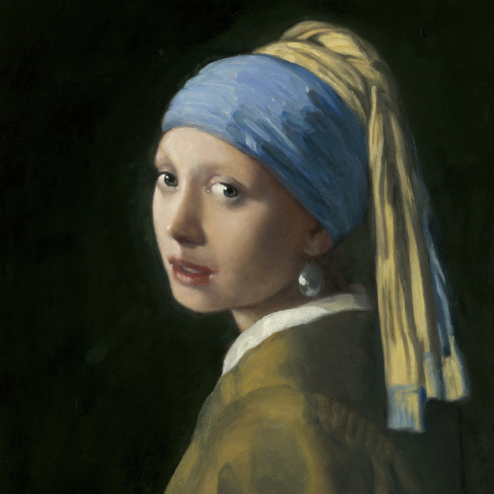 """Girl with the Pearl Earring"" Collection of the William Larkin Family"