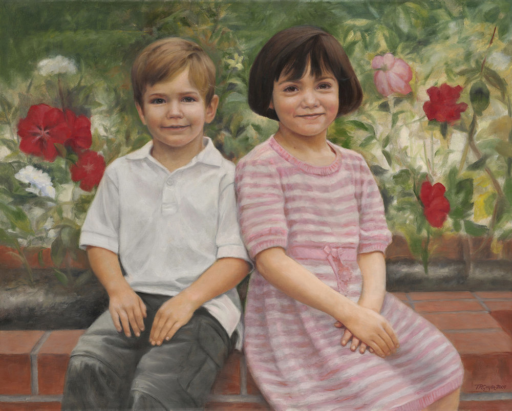 Portrait of Marco and Gemma
