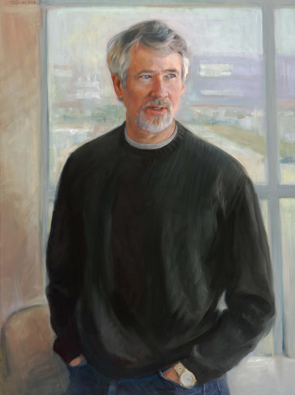 Portrait of John Patton