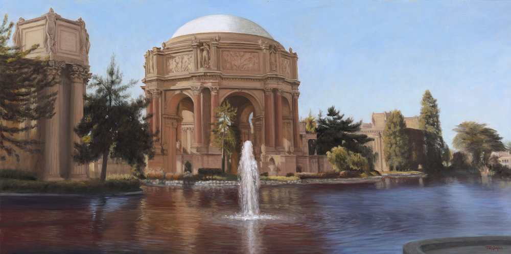 Palace of Fine Arts, Lagoon View