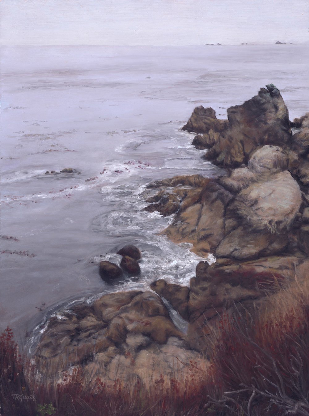 """ Bay Inlet in October ""   24x18"" oil on linen"