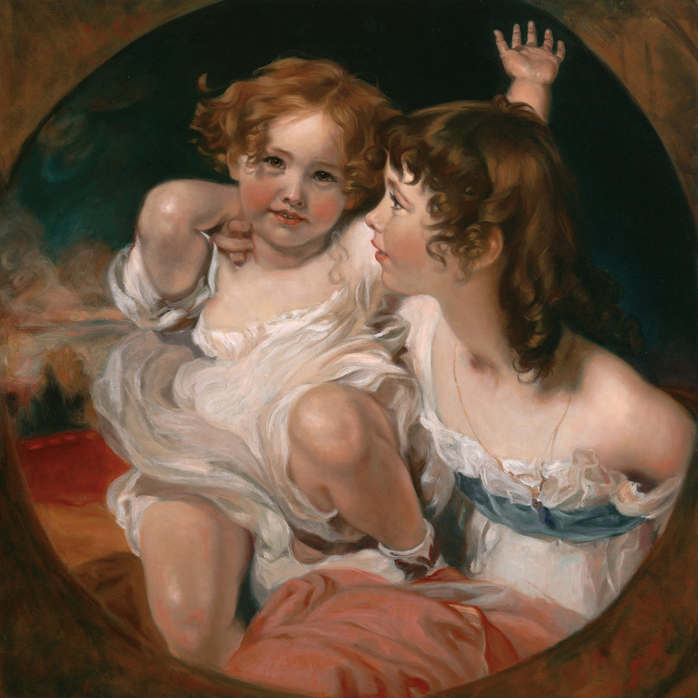 """Master Copy of Sir Thomas Lawrence's """"The Calmady Children"""""""
