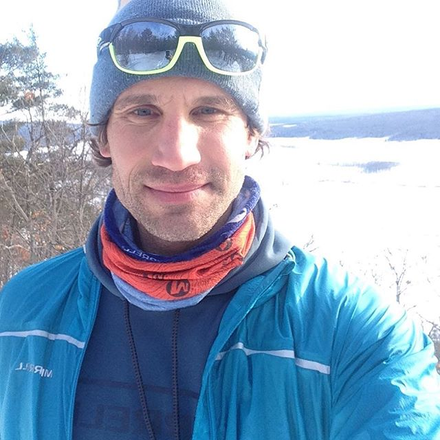#selfie from the first #snowshoe of the year. I love exploring new routes in the winter, which is always so much easier to do since the vegetation today. Walked the ridgeline and tracked it with my @suunto so that I can cut a ridge trail this summer. My goal is to cut 25 km of trail here at #longtrekranch and host a 25k and 50 k on September 10th of this year (yes, the day after @amphibiouschallenge ) stay tuned for more details and photos.
