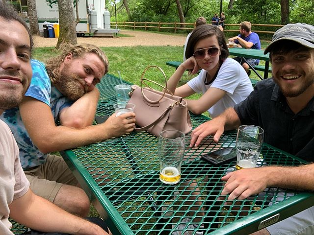 Love is in the air! Happy Valentine's day, here's a throwback to Asheville, NC this past summer. We're back in Cincinnati next Saturday (2/23) at Northside Tavern w/ @barefuzz don't miss it!
