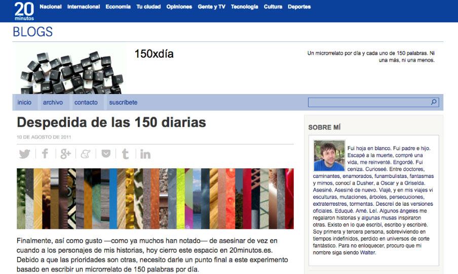 Blog de 150xdía