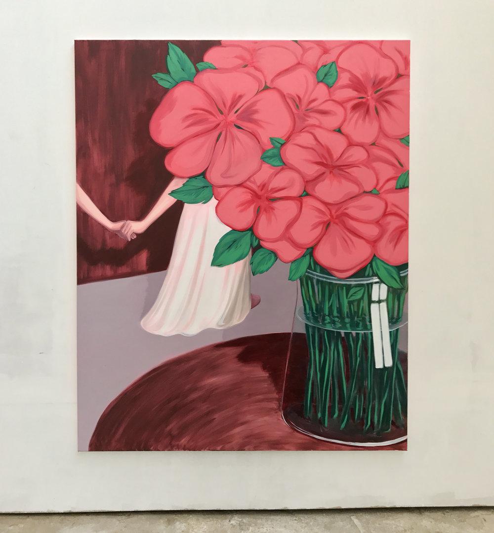 Bouquet Oil on canvas 170 x 140 cm 2017