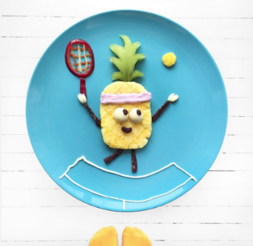 Embrace your inner kid. Play with your food. @idafrosk