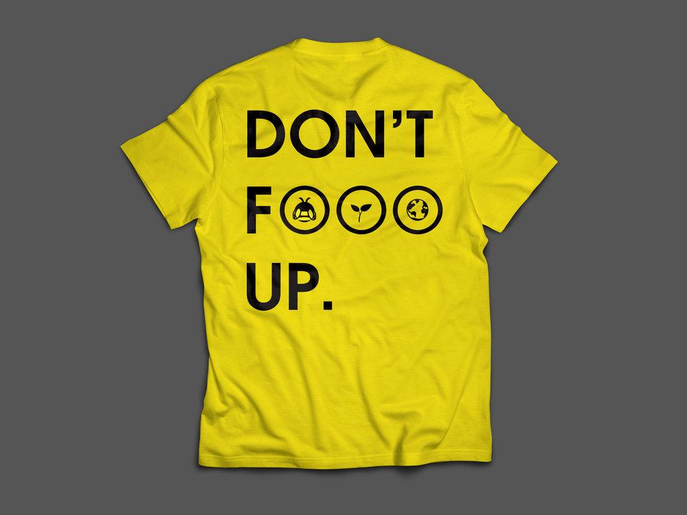 Back of T-shirt Design