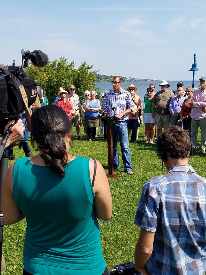 Duluth for Clean Water Citizens' Press Conference