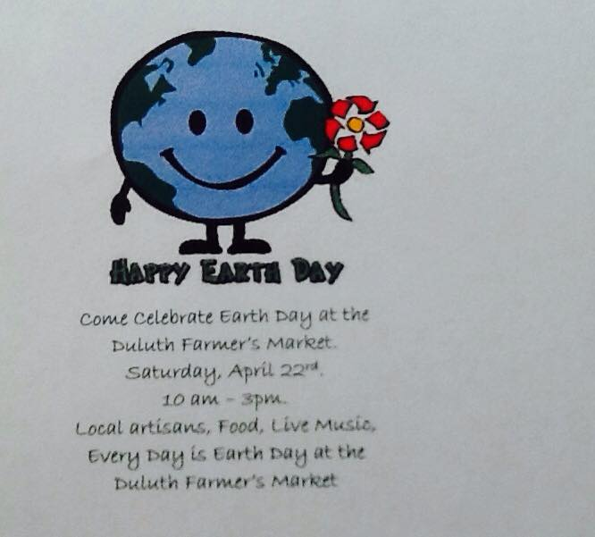 duluth farmers market earth day