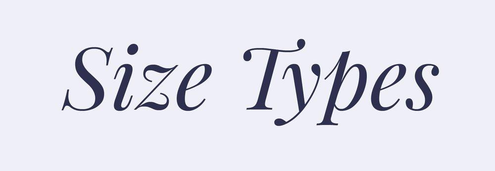 sizetypegraphic